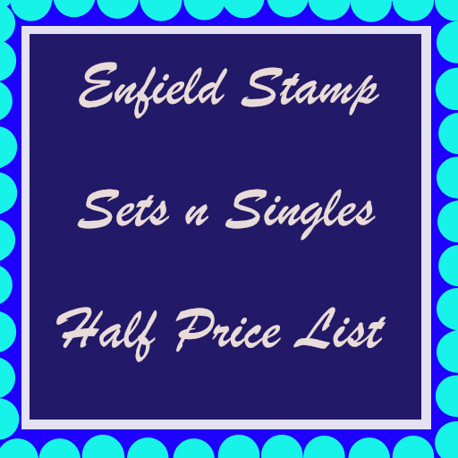 Enfield Stamp Half Price List Set n Singles 446