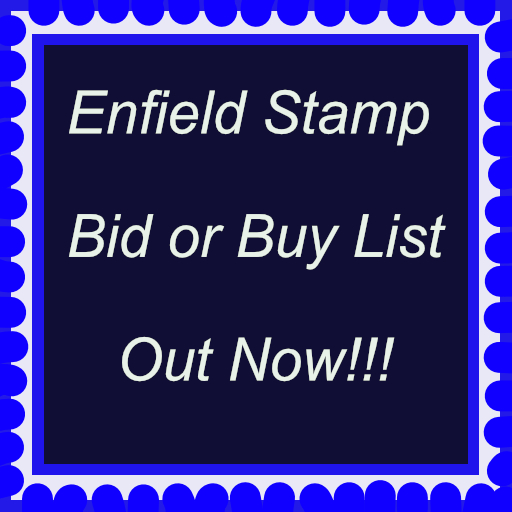 Enfield Stamp Bid or Buy List 450